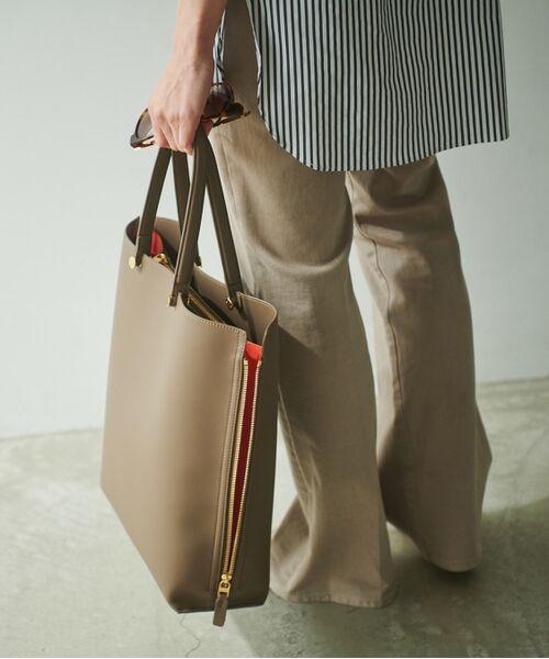 ROPE' / ロペ トートバッグ | 【新色追加】【E'POR】【A4対応】Y bag Large(サイドジップ縦型トートバッグ) | 詳細18