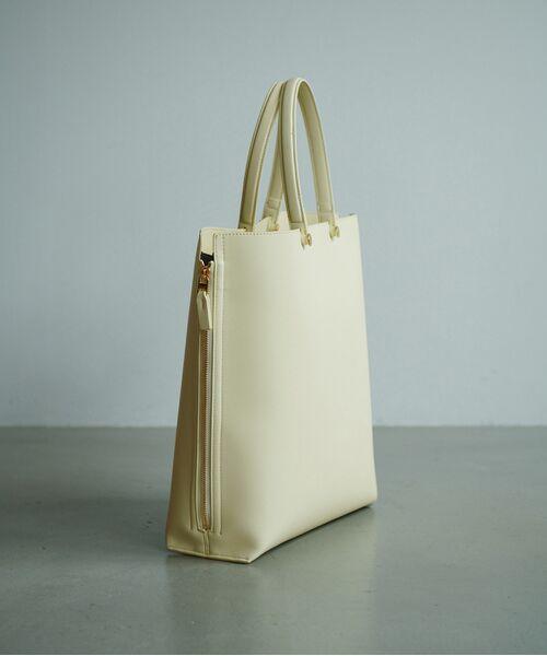 ROPE' / ロペ トートバッグ | 【新色追加】【E'POR】【A4対応】Y bag Large(サイドジップ縦型トートバッグ) | 詳細9