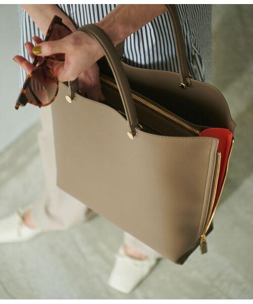 ROPE' / ロペ トートバッグ | 【E'POR】【一部WEB限定】【A4対応】Y bag Large(サイドジップ縦型トートバッグ) | 詳細1