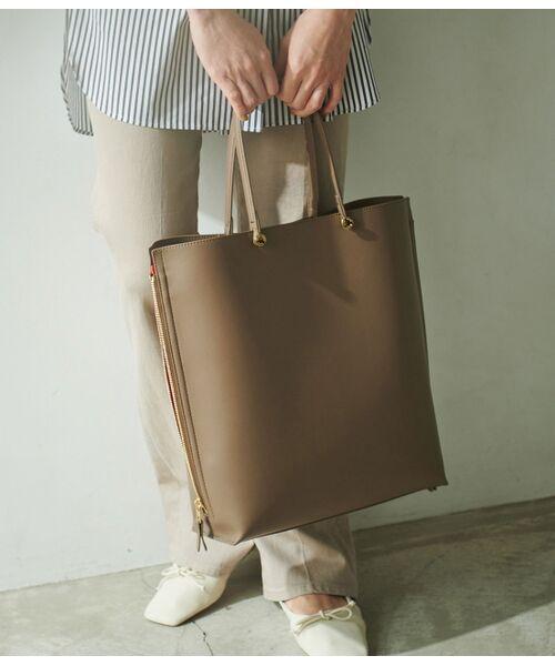ROPE' / ロペ トートバッグ | 【E'POR】【一部WEB限定】【A4対応】Y bag Large(サイドジップ縦型トートバッグ) | 詳細17