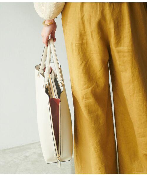 ROPE' / ロペ トートバッグ | 【E'POR】【一部WEB限定】【A4対応】Y bag Large(サイドジップ縦型トートバッグ) | 詳細18