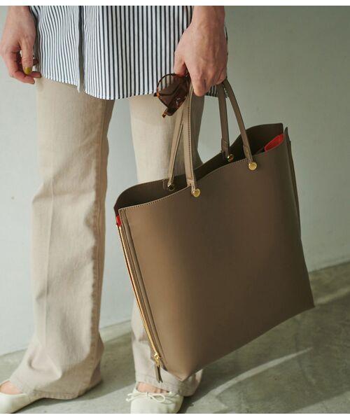 ROPE' / ロペ トートバッグ | 【E'POR】【一部WEB限定】【A4対応】Y bag Large(サイドジップ縦型トートバッグ) | 詳細2
