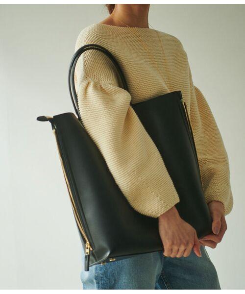 ROPE' / ロペ トートバッグ | 【E'POR】【一部WEB限定】【A4対応】Y bag Large(サイドジップ縦型トートバッグ) | 詳細20