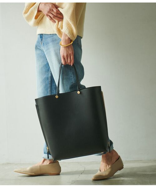 ROPE' / ロペ トートバッグ | 【E'POR】【一部WEB限定】【A4対応】Y bag Large(サイドジップ縦型トートバッグ) | 詳細21