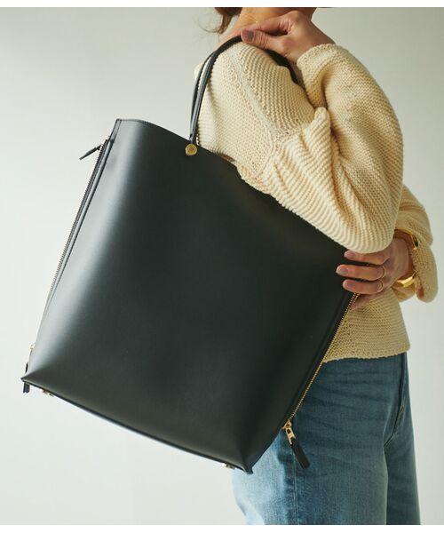ROPE' / ロペ トートバッグ | 【E'POR】【一部WEB限定】【A4対応】Y bag Large(サイドジップ縦型トートバッグ) | 詳細22