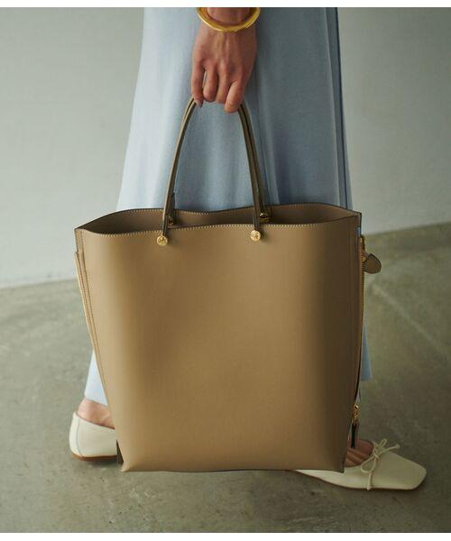 ROPE' / ロペ トートバッグ | 【E'POR】【一部WEB限定】【A4対応】Y bag Large(サイドジップ縦型トートバッグ) | 詳細23
