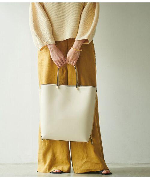 ROPE' / ロペ トートバッグ | 【E'POR】【一部WEB限定】【A4対応】Y bag Large(サイドジップ縦型トートバッグ) | 詳細3