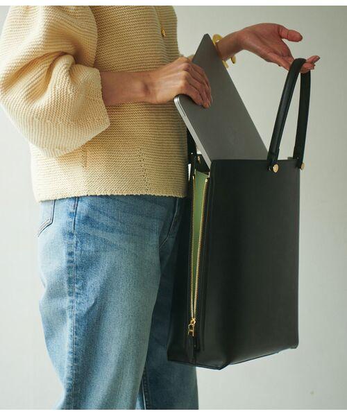 ROPE' / ロペ トートバッグ | 【E'POR】【一部WEB限定】【A4対応】Y bag Large(サイドジップ縦型トートバッグ) | 詳細5