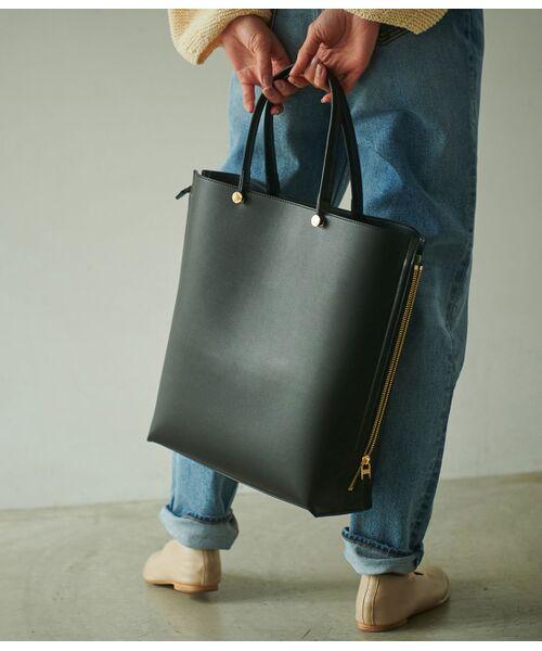 ROPE' / ロペ トートバッグ | 【E'POR】【一部WEB限定】【A4対応】Y bag Large(サイドジップ縦型トートバッグ) | 詳細6