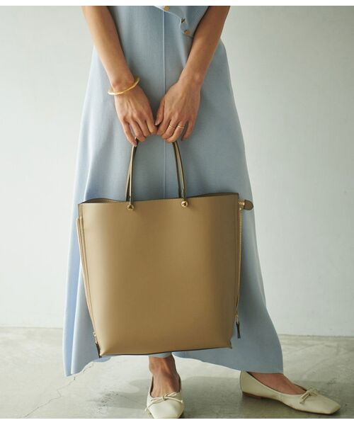 ROPE' / ロペ トートバッグ | 【E'POR】【一部WEB限定】【A4対応】Y bag Large(サイドジップ縦型トートバッグ) | 詳細7