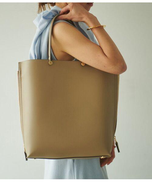 ROPE' / ロペ トートバッグ | 【E'POR】【一部WEB限定】【A4対応】Y bag Large(サイドジップ縦型トートバッグ) | 詳細8