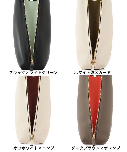 ROPE' / ロペ トートバッグ | 【E'POR】【一部WEB限定】【A4対応】Y bag Large(サイドジップ縦型トートバッグ) | 詳細29