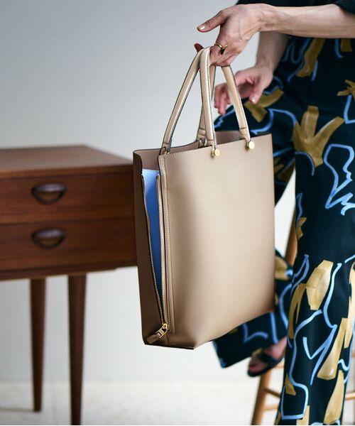 ROPE' / ロペ トートバッグ | 【E'POR】【一部WEB限定】【A4対応】Y bag Large(サイドジップ縦型トートバッグ) | 詳細30