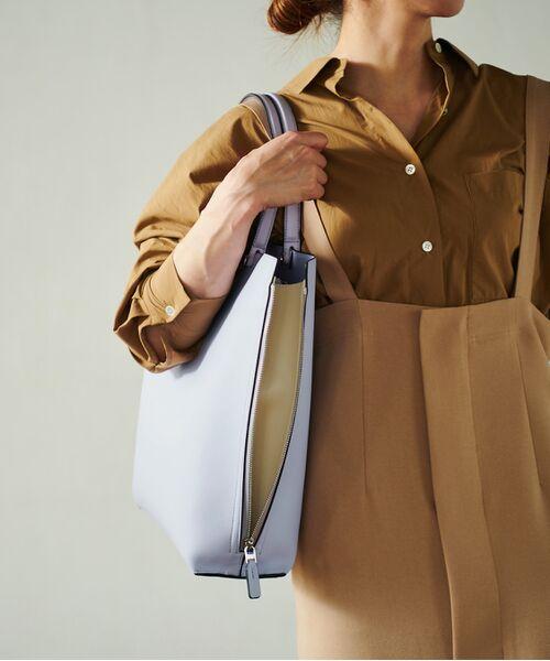 ROPE' / ロペ トートバッグ | 【新色追加】【E'POR】【A4対応】Y bag Large(サイドジップ縦型トートバッグ)(ラベンダー(52))