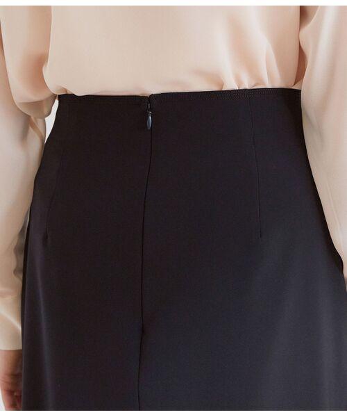 ROPE' / ロペ スカート | 【洗える】【オフィス/お仕事】ステッチ入りタイトスカート(セットアップ対応) | 詳細5
