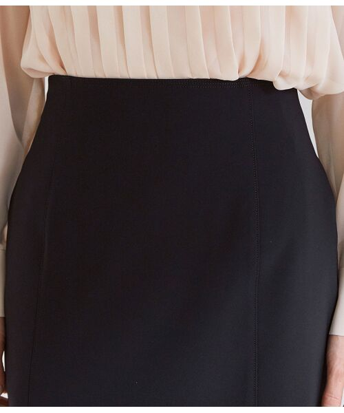 ROPE' / ロペ スカート | 【洗える】【オフィス/お仕事】ステッチ入りタイトスカート(セットアップ対応) | 詳細6