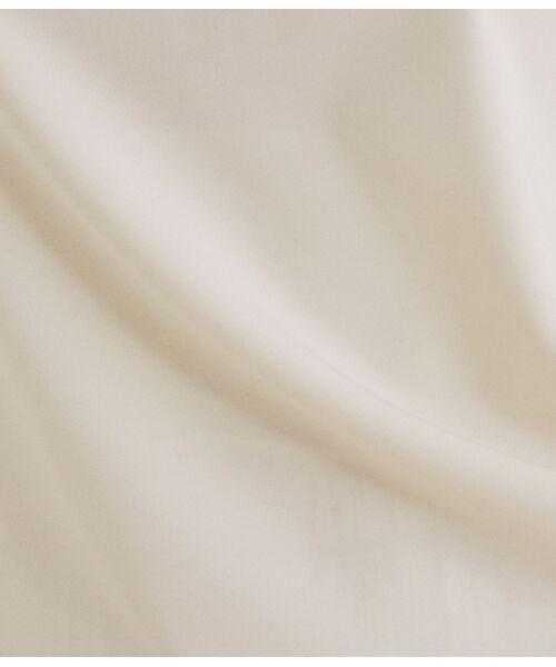 ROPE' / ロペ シャツ・ブラウス | 【洗える】【オフィス/お仕事】フレンチスリーブ Tブラウス(セットアップ対応) | 詳細9