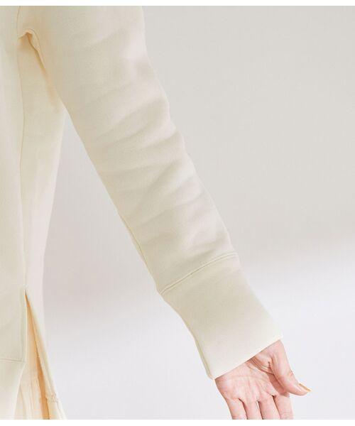 ROPE' / ロペ その他トップス   【洗える】裏毛起毛スキッパープルオーバー   詳細6
