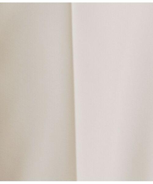 ROPE' / ロペ スラックス・ドレスパンツ | 【洗える】【オフィス/お仕事】タックテーパードパンツ(セットアップ対応) | 詳細10