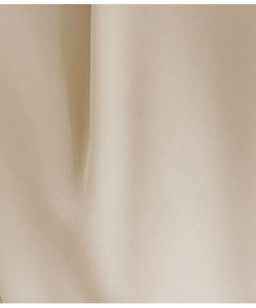 ROPE' / ロペ スラックス・ドレスパンツ | 【洗える】【オフィス/お仕事】【セット対応】ノイエ2WAYストレッチタックテーパードパンツ | 詳細11