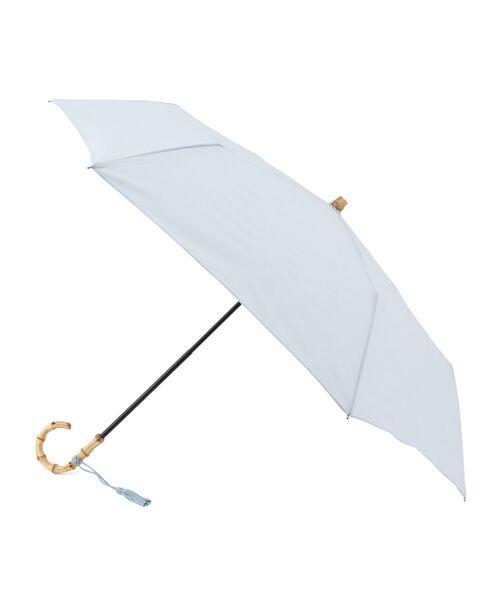 ROPE' / ロペ 傘 | 【21SS新色】【晴雨兼用】バンブーハンドルコンパクトアンブレラ | 詳細2