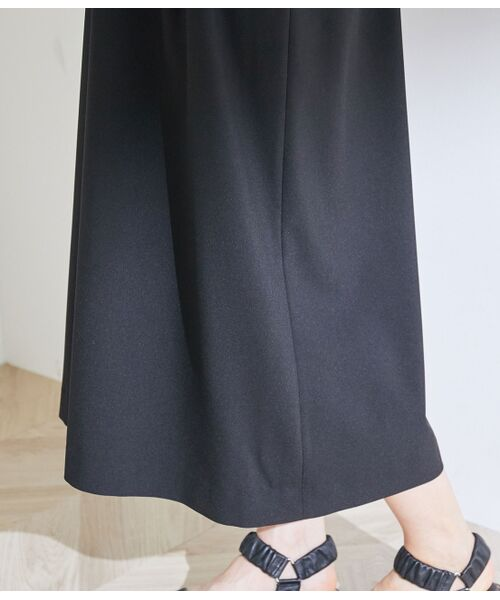 ROPE' / ロペ ワンピース | タックセミフレアージャンパースカート | 詳細9