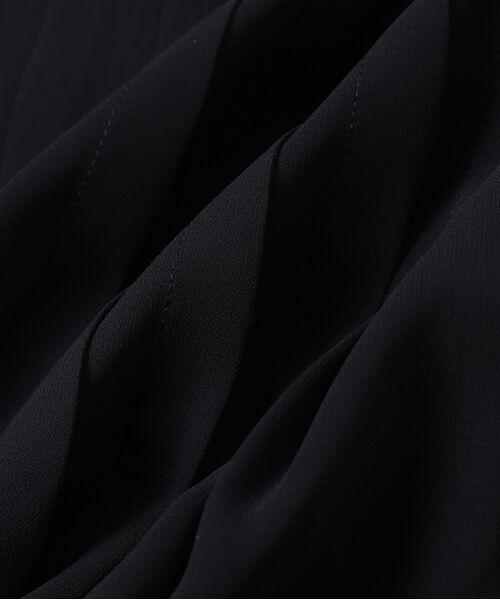 ROPE' / ロペ シャツ・ブラウス | 【洗える】シフォンリブ付きピンタックブラウス | 詳細9