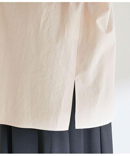 ROPE' / ロペ シャツ・ブラウス | 【洗える】タイプライターコットンBIGシャツ | 詳細11