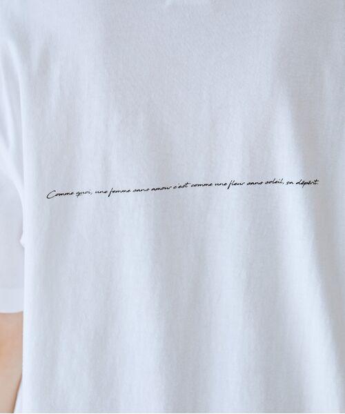 ROPE' / ロペ カットソー   【VTA for MADEMOISELLE】フラワーフォトショートスリーブ Tシャツ   詳細11