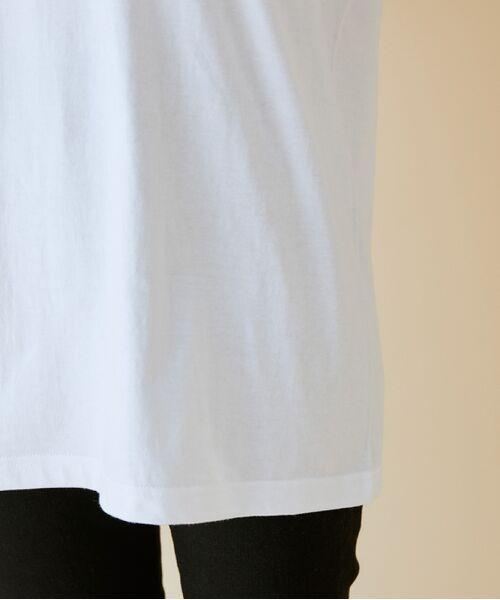 ROPE' / ロペ カットソー   【VTA for MADEMOISELLE】フラワーフォトショートスリーブ Tシャツ   詳細14