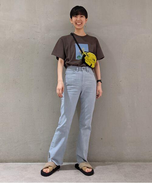 ROPE' / ロペ カットソー   【VTA for MADEMOISELLE】フラワーフォトショートスリーブ Tシャツ   詳細18