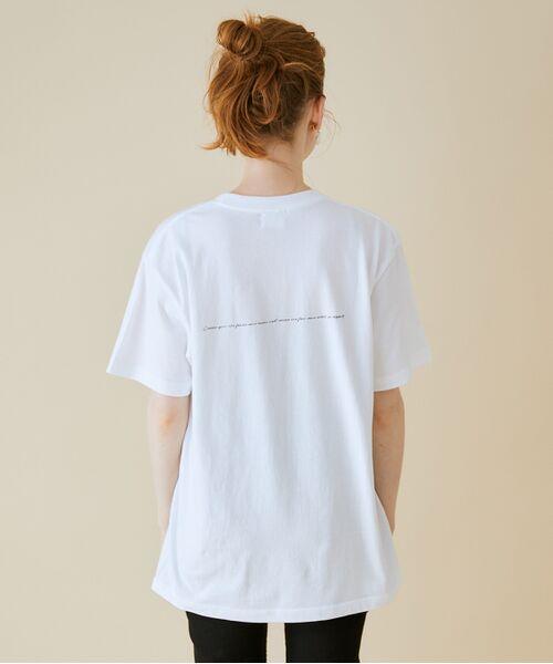 ROPE' / ロペ カットソー   【VTA for MADEMOISELLE】フラワーフォトショートスリーブ Tシャツ   詳細9