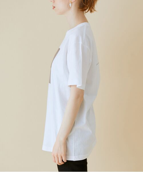 ROPE' / ロペ カットソー   【VTA for MADEMOISELLE】フラワーフォトショートスリーブ Tシャツ   詳細26
