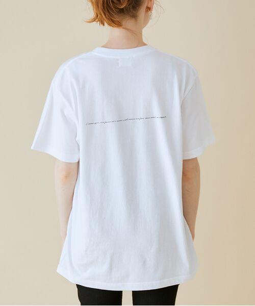 ROPE' / ロペ カットソー   【VTA for MADEMOISELLE】フラワーフォトショートスリーブ Tシャツ   詳細27