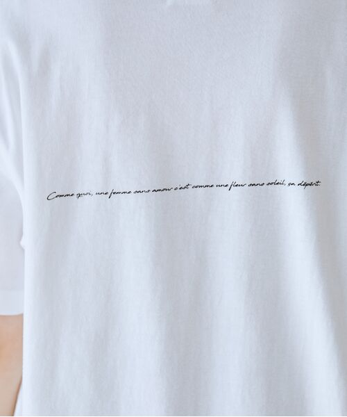 ROPE' / ロペ カットソー   【VTA for MADEMOISELLE】フラワーフォトショートスリーブ Tシャツ   詳細29