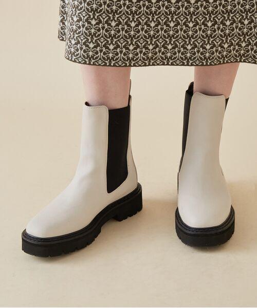 ROPE' / ロペ ブーツ(ショート丈)   <追加>プラットフォームチェルシーブーツ   詳細2
