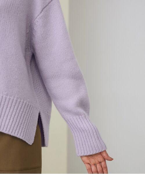 ROPE' / ロペ ニット・セーター | 【一部WEB限定】タスマニアウールクルーネックフォルムプルオーバーニット | 詳細15