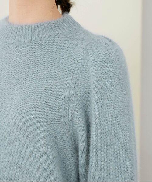 ROPE' / ロペ ニット・セーター   【シリーズ】【WEB限定】FOX混パフスリーブニットプルオーバー   詳細8