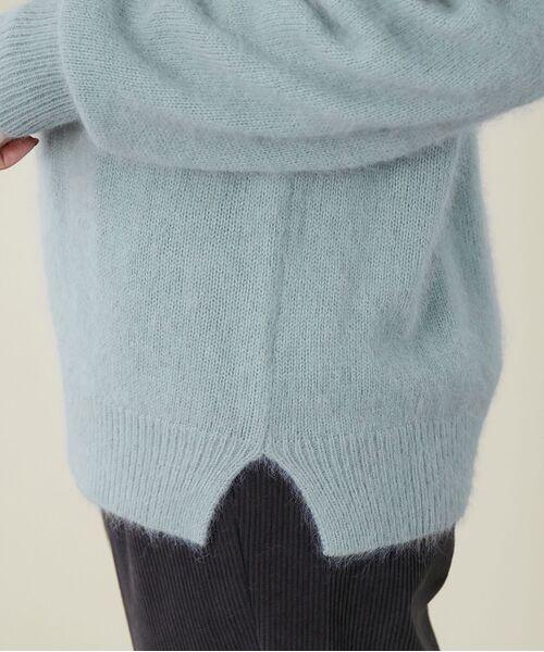 ROPE' / ロペ ニット・セーター   【シリーズ】【WEB限定】FOX混パフスリーブニットプルオーバー   詳細9