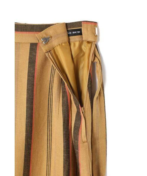 ROSE BUD / ローズ バッド スカート | ウエストリボンストライプマキシスカート | 詳細12
