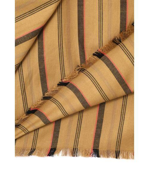 ROSE BUD / ローズ バッド スカート | ウエストリボンストライプマキシスカート | 詳細13