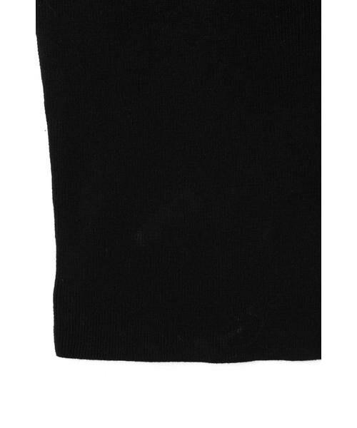 ROSE BUD / ローズ バッド ニット・セーター | フラワー刺繍ニットキャミソール | 詳細9