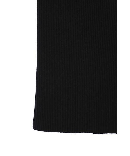 ROSE BUD / ローズ バッド ニット・セーター | チュールワンショルダーニット | 詳細11