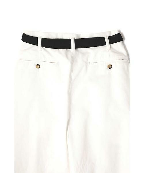 ROSE BUD / ローズ バッド スカート | ベルト付ワイドラップスカート | 詳細8