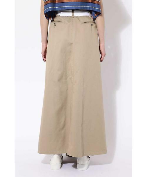 ROSE BUD / ローズ バッド スカート | ベルト付ワイドラップスカート | 詳細12