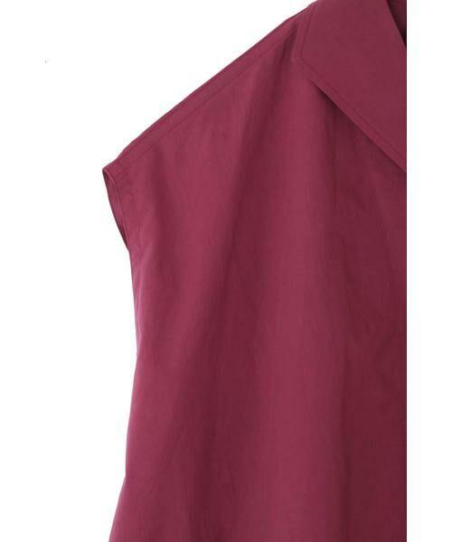 ROSE BUD / ローズ バッド シャツ・ブラウス | フレンチスリーブ開襟シャツブラウス | 詳細18