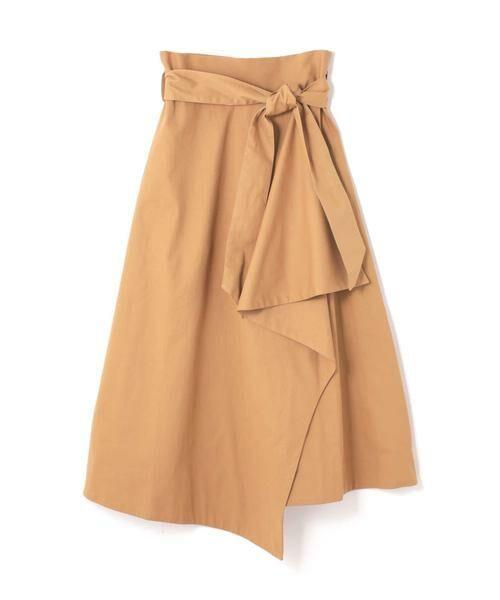 ROSE BUD / ローズ バッド スカート   ハイウエストフリルラップスカート   詳細4