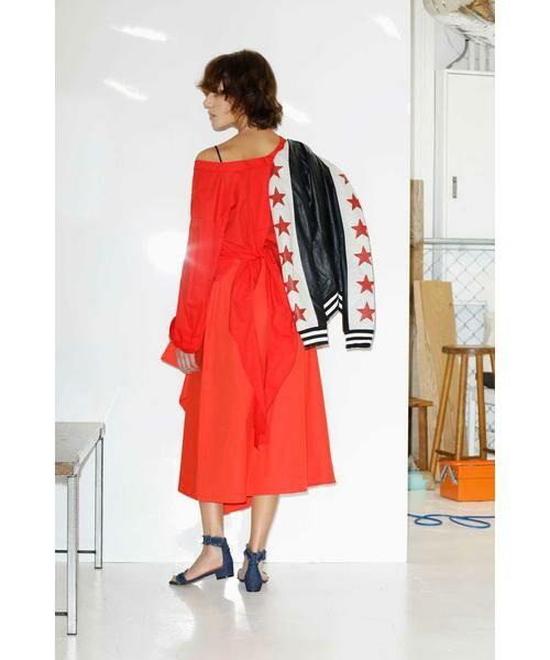ROSE BUD / ローズ バッド スカート   ハイウエストフリルラップスカート   詳細10