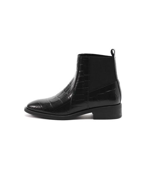 ROSE BUD / ローズ バッド ブーツ(ショート丈) | サイドゴアブーツ(ブラック1)