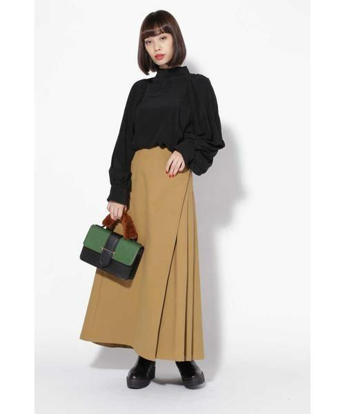 ROSE BUD / ローズ バッド スカート | ラップフレアスカート | 詳細2